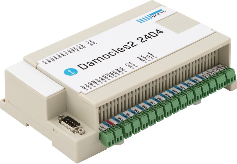 MCS HWg Damocles2 2404 - remote input output monitoring