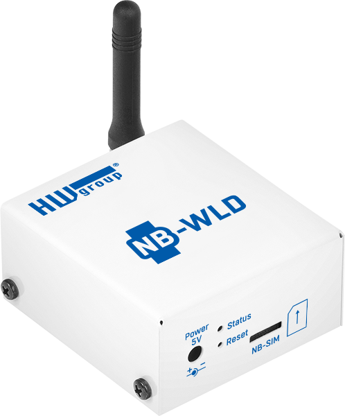 MCS HWg NB-WLD waterlekdetectie en remote monitoring