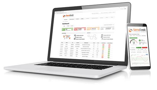 MCS SensDesk portal simpele IoT-oplossing voor remote monitoren van temperatuur luchtkwaliteit coldchain