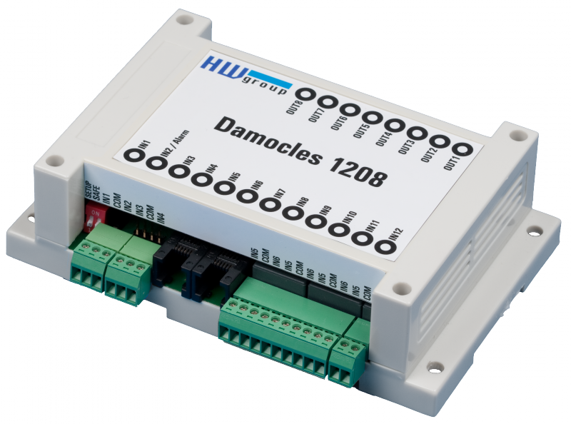 MCS HWg Damocles 1208 - remote input output monitoring